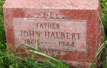 HALBERT, JOHN - Morrow County, Ohio | JOHN HALBERT - Ohio Gravestone Photos