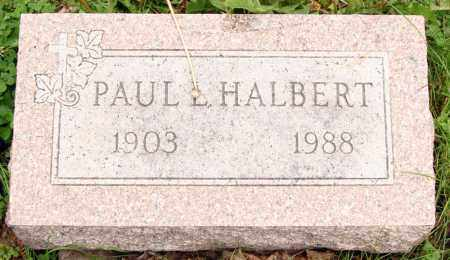 HALBERT, PAUL L. - Morrow County, Ohio | PAUL L. HALBERT - Ohio Gravestone Photos