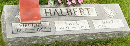 CAMPBELL HALBERT, DALE - Morrow County, Ohio | DALE CAMPBELL HALBERT - Ohio Gravestone Photos