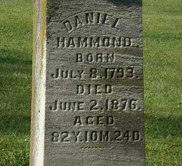 HAMMOND, DANIEL - Morrow County, Ohio | DANIEL HAMMOND - Ohio Gravestone Photos