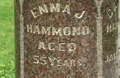 HAMMOND, EMMA J. - Morrow County, Ohio | EMMA J. HAMMOND - Ohio Gravestone Photos