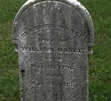 HANCE, WILLIAM - Morrow County, Ohio | WILLIAM HANCE - Ohio Gravestone Photos