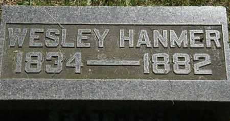 HANMER, WESLEY - Morrow County, Ohio   WESLEY HANMER - Ohio Gravestone Photos