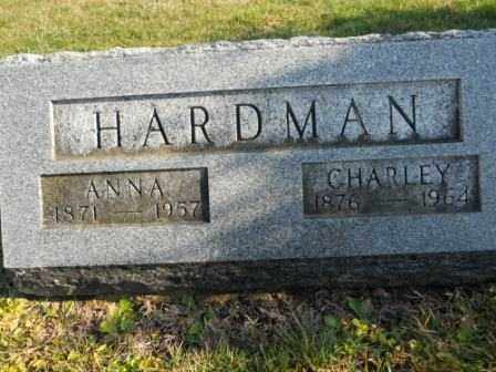 HARDMAN, ANNA - Morrow County, Ohio | ANNA HARDMAN - Ohio Gravestone Photos