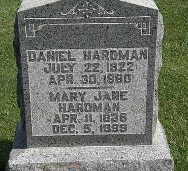 HARDMAN, MARY JANE - Morrow County, Ohio | MARY JANE HARDMAN - Ohio Gravestone Photos
