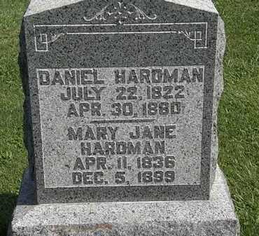 HARDMAN, DANIEL - Morrow County, Ohio | DANIEL HARDMAN - Ohio Gravestone Photos