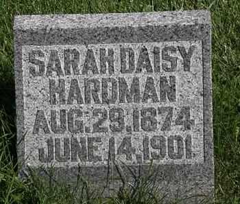 HARDMAN, SARAH DAISY - Morrow County, Ohio | SARAH DAISY HARDMAN - Ohio Gravestone Photos