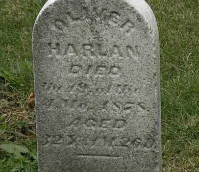 HARLAN, OLIVER - Morrow County, Ohio | OLIVER HARLAN - Ohio Gravestone Photos