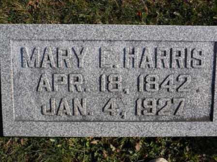 HARRIS, MARY E - Morrow County, Ohio | MARY E HARRIS - Ohio Gravestone Photos