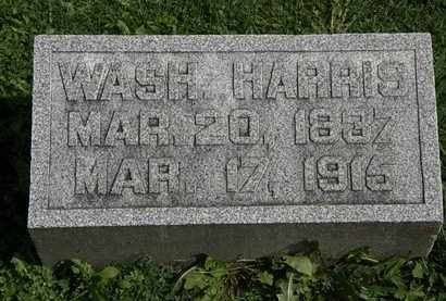 HARRIS, WASH. - Morrow County, Ohio | WASH. HARRIS - Ohio Gravestone Photos