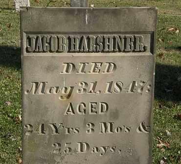 HARSHNER, JACOB - Morrow County, Ohio | JACOB HARSHNER - Ohio Gravestone Photos