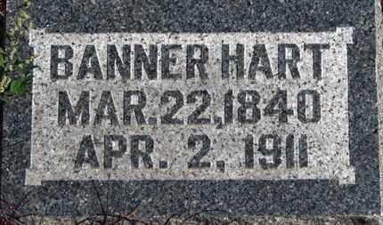 HART, BANNER - Morrow County, Ohio | BANNER HART - Ohio Gravestone Photos