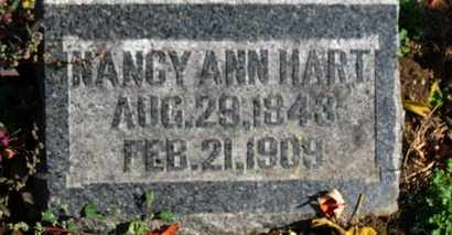 HART, NANCY ANN - Morrow County, Ohio | NANCY ANN HART - Ohio Gravestone Photos