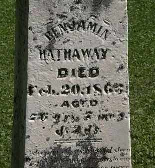 HATHAWAY, BENJAMIN - Morrow County, Ohio | BENJAMIN HATHAWAY - Ohio Gravestone Photos