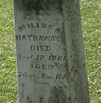 HATHAWAY, MILISSA - Morrow County, Ohio | MILISSA HATHAWAY - Ohio Gravestone Photos