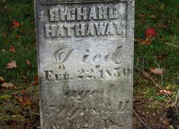 HATHAWAY, RICHARD - Morrow County, Ohio | RICHARD HATHAWAY - Ohio Gravestone Photos