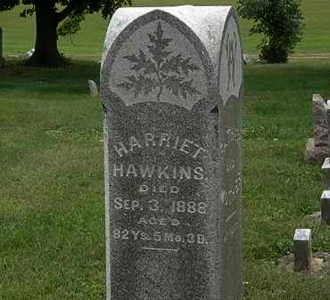 HAWKINS, HARRIET - Morrow County, Ohio | HARRIET HAWKINS - Ohio Gravestone Photos