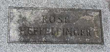 HEFFELFINGER, ROSE - Morrow County, Ohio | ROSE HEFFELFINGER - Ohio Gravestone Photos