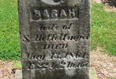 HEFFELFINGER, SARAH - Morrow County, Ohio | SARAH HEFFELFINGER - Ohio Gravestone Photos