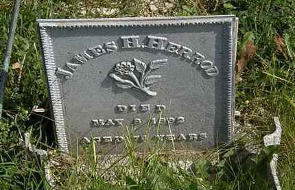 HERROD, JAMES H. - Morrow County, Ohio | JAMES H. HERROD - Ohio Gravestone Photos