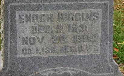 HIGGINS, ENOCH - Morrow County, Ohio | ENOCH HIGGINS - Ohio Gravestone Photos
