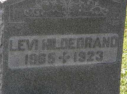 HILDEBRAND, LEVI - Morrow County, Ohio | LEVI HILDEBRAND - Ohio Gravestone Photos