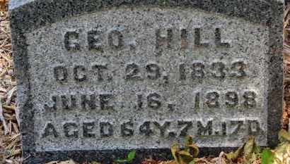 HILL, GEO - Morrow County, Ohio | GEO HILL - Ohio Gravestone Photos