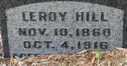 HILL, LEROY - Morrow County, Ohio | LEROY HILL - Ohio Gravestone Photos