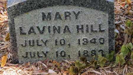 HILL, MARY LAVINA - Morrow County, Ohio | MARY LAVINA HILL - Ohio Gravestone Photos