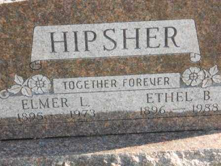 HIPSHER, ELMER L - Morrow County, Ohio | ELMER L HIPSHER - Ohio Gravestone Photos