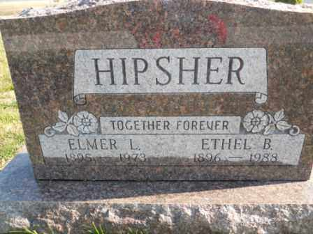 HIPSHER, ETHEL B - Morrow County, Ohio | ETHEL B HIPSHER - Ohio Gravestone Photos