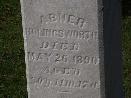 HOLINGSWORTH, ABNER - Morrow County, Ohio | ABNER HOLINGSWORTH - Ohio Gravestone Photos