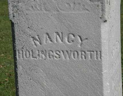 HOLINGSWORTH, NANCY - Morrow County, Ohio | NANCY HOLINGSWORTH - Ohio Gravestone Photos