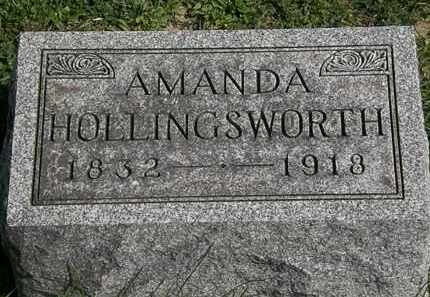 HOLLINGSWORTH, AMANDA - Morrow County, Ohio | AMANDA HOLLINGSWORTH - Ohio Gravestone Photos