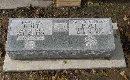 HOLT, EVAN A. - Morrow County, Ohio | EVAN A. HOLT - Ohio Gravestone Photos
