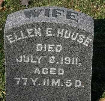 HOUSE, ELLEN E. - Morrow County, Ohio | ELLEN E. HOUSE - Ohio Gravestone Photos