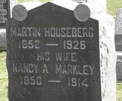 HOUSEBERG, MARTIN - Morrow County, Ohio | MARTIN HOUSEBERG - Ohio Gravestone Photos