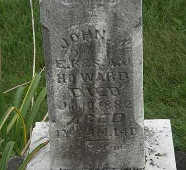 HOWARD, E.R. - Morrow County, Ohio | E.R. HOWARD - Ohio Gravestone Photos