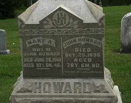 HOWARD, JOHN - Morrow County, Ohio | JOHN HOWARD - Ohio Gravestone Photos