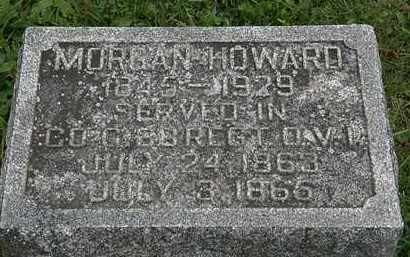 HOWARD, MORGAN - Morrow County, Ohio | MORGAN HOWARD - Ohio Gravestone Photos