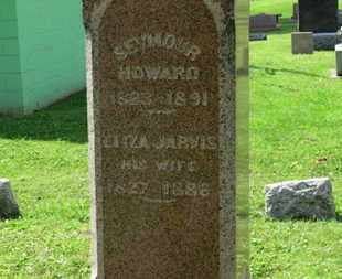 JARVIS HOWARD, ELIZA - Morrow County, Ohio | ELIZA JARVIS HOWARD - Ohio Gravestone Photos