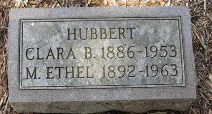HUBBERT, M. ETHEL - Morrow County, Ohio | M. ETHEL HUBBERT - Ohio Gravestone Photos