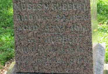HUBBERT, MOSES M. - Morrow County, Ohio | MOSES M. HUBBERT - Ohio Gravestone Photos
