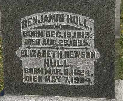 HULL, BENJAMIN - Morrow County, Ohio | BENJAMIN HULL - Ohio Gravestone Photos