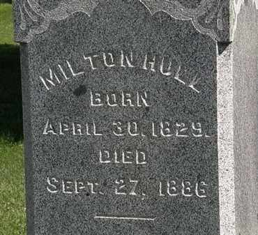 HULL, MILTON - Morrow County, Ohio | MILTON HULL - Ohio Gravestone Photos