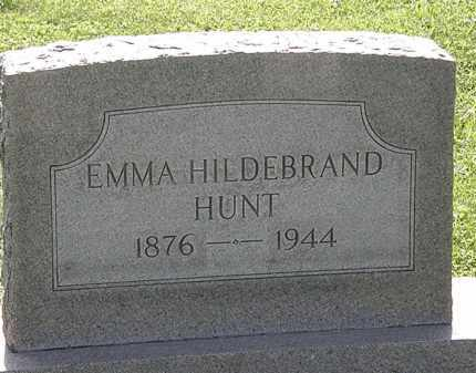HILDEBRAND HUNT, EMMA - Morrow County, Ohio | EMMA HILDEBRAND HUNT - Ohio Gravestone Photos