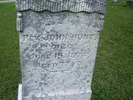 HUNT, JOHN - Morrow County, Ohio | JOHN HUNT - Ohio Gravestone Photos
