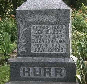 HURR, GEORGE - Morrow County, Ohio | GEORGE HURR - Ohio Gravestone Photos
