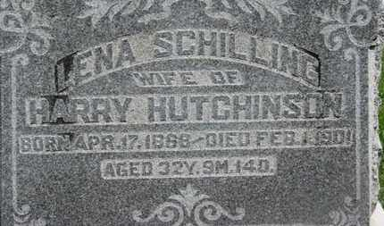 SCHILLING HUTCHINSON, LENA - Morrow County, Ohio | LENA SCHILLING HUTCHINSON - Ohio Gravestone Photos