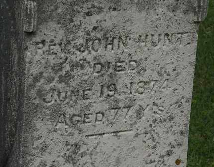 HUNT, REV. JOHN - Morrow County, Ohio | REV. JOHN HUNT - Ohio Gravestone Photos
